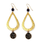 PHOENIX Teardrop Earrings - GOLD