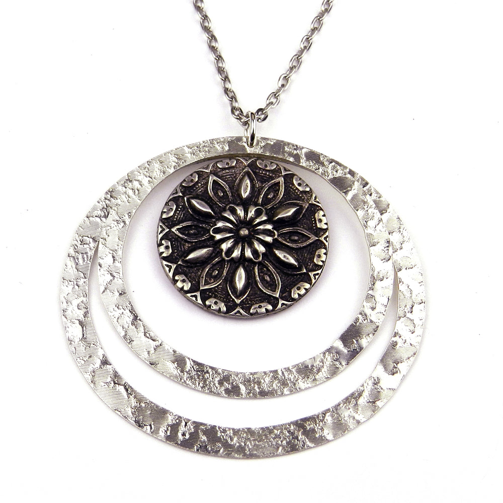 RADIANCE Echo Necklace - SILVER