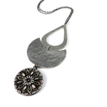 RADIANCE ECLIPSE Necklace - SILVER