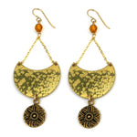 SUNFLOWER / SUNLIGHT Luna Earrings - GOLD