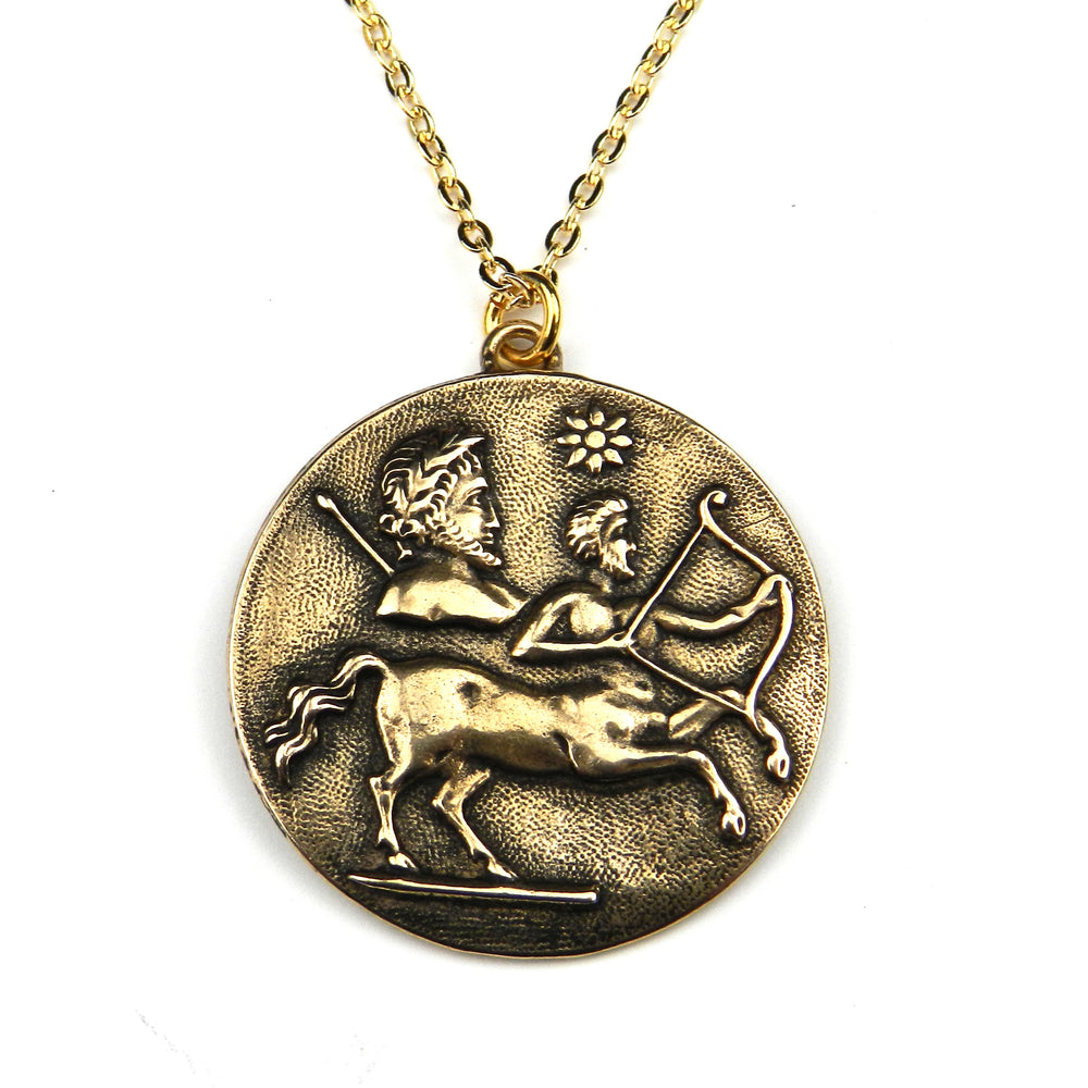 SAGITTARIUS - Vintage Astrology Necklace