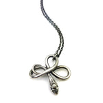 SERPENT Victorian Necklace - SILVER