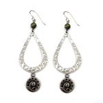 FERN Teardrop Earrings - SILVER