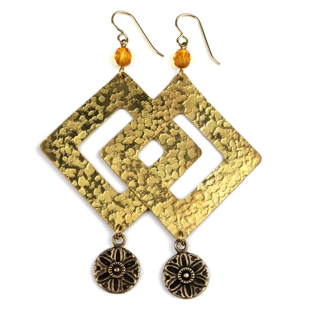SUNLIGHT Pinnacle Earrings - GOLD