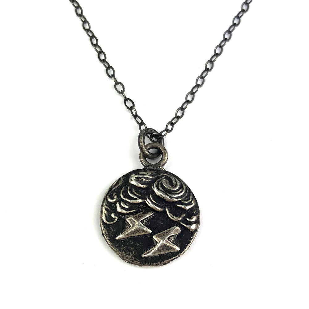 Lightning - Classic Necklace - SILVER
