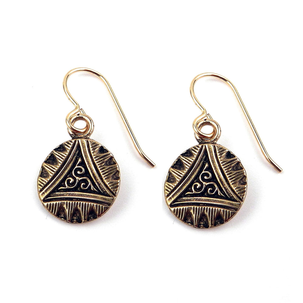 TRIAD Classic Earrings - GOLD