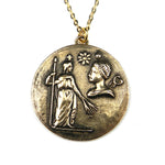VIRGO - Vintage Astrology Necklace