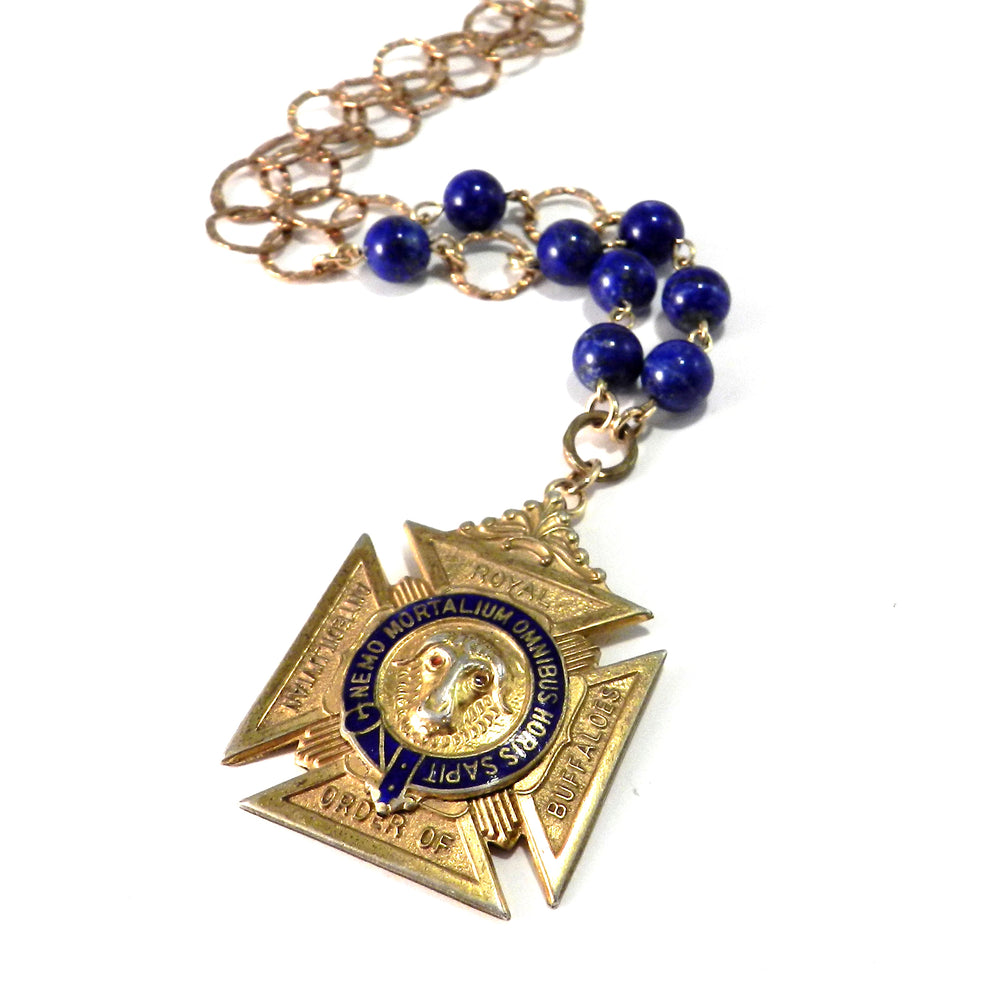 Royal Order of Antediluvian Buffaloes Necklace