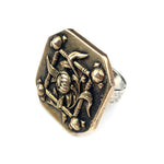 BELLE EPOQUE Antique Button Ring