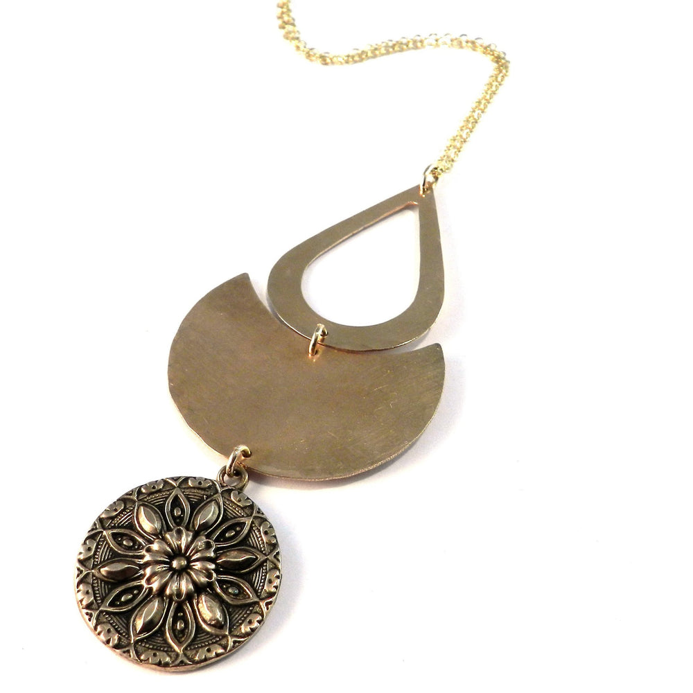 RADIANCE ECLIPSE Necklace - GOLD