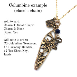 Create your Journey Charm Necklace - Gold CLASSIC Chain
