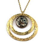 CLOCKWORK Echo Necklace - GOLD