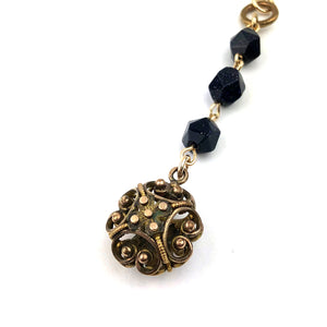 Cricket Cage Watch Fob Necklace - GOLD