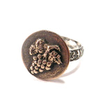 HARVEST GRAPE Statement Ring - MIXED METAL