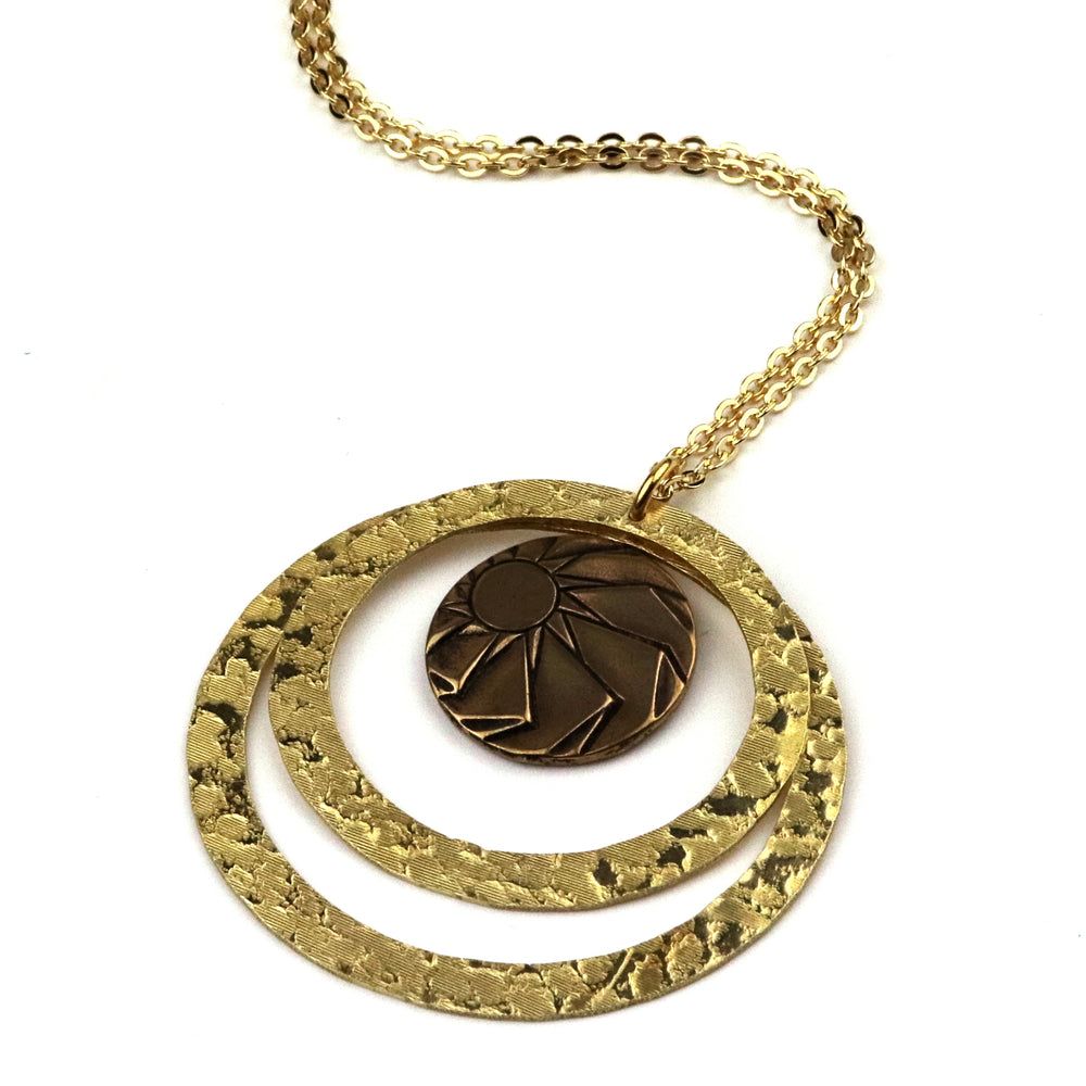 HORIZONS Echo Necklace - GOLD