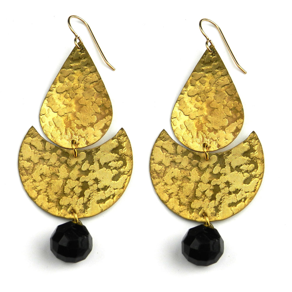 VICTORIA Eclipse Earrings - GOLD - Limited Edition