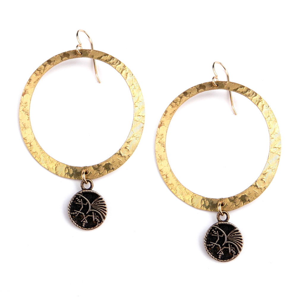 PHOENIX Halo Earring - GOLD