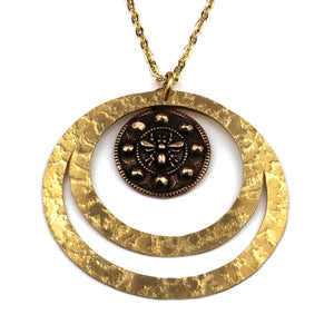 QUEEN BEE Echo Necklace - GOLD