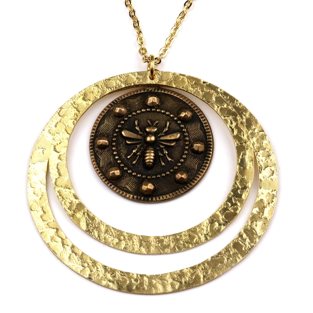 QUEEN BEE (Lg.) Echo Necklace - GOLD