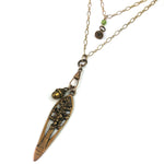 Redwood Treasure Charm Necklace - Gold