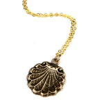 SEA SHELL Classic Necklace - GOLD