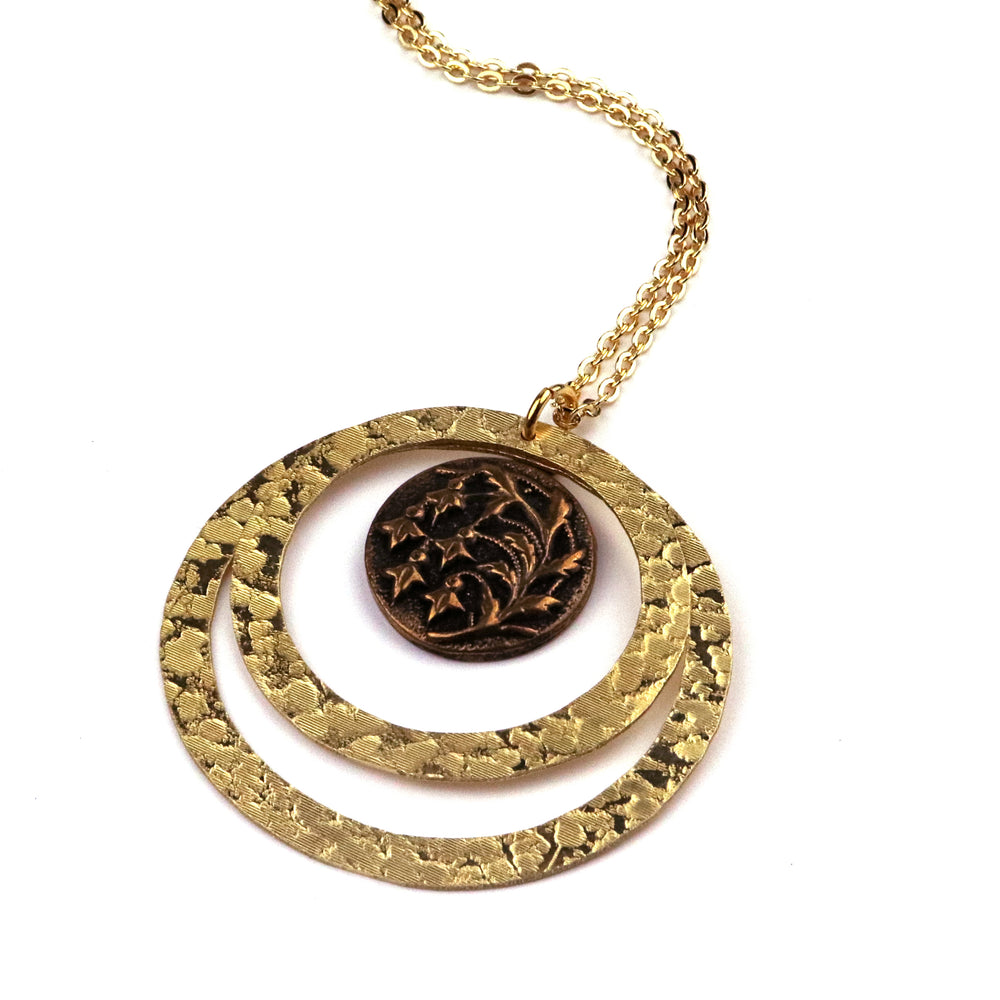 SNOWDROP Echo Necklace - GOLD