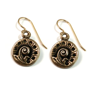 FERN / NAUTILUS Earrings - GOLD