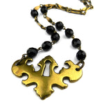 Vienna - Antique Keyhole Choker Style Necklace