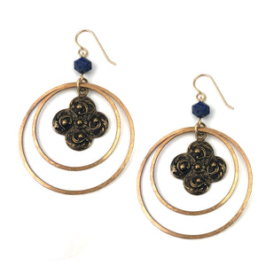 WINDS OF CHANGE Statement  Earring - Gold