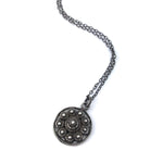 Zeeuwse Knop Dutch Button Necklace - SILVER