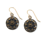Zeeuwse Dutch Button Earrings - GOLD