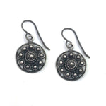 Zeeuwse Knop Dutch Button Earrings - SILVER
