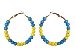 Bahamas Earring Hoops - Sasha L JEWELS LLC