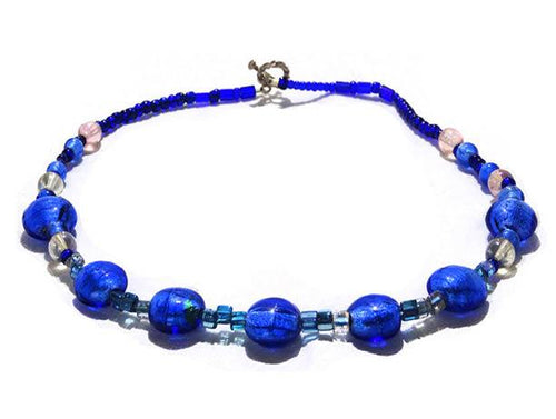 Blue Horizon Necklace - Sasha L JEWELS LLC