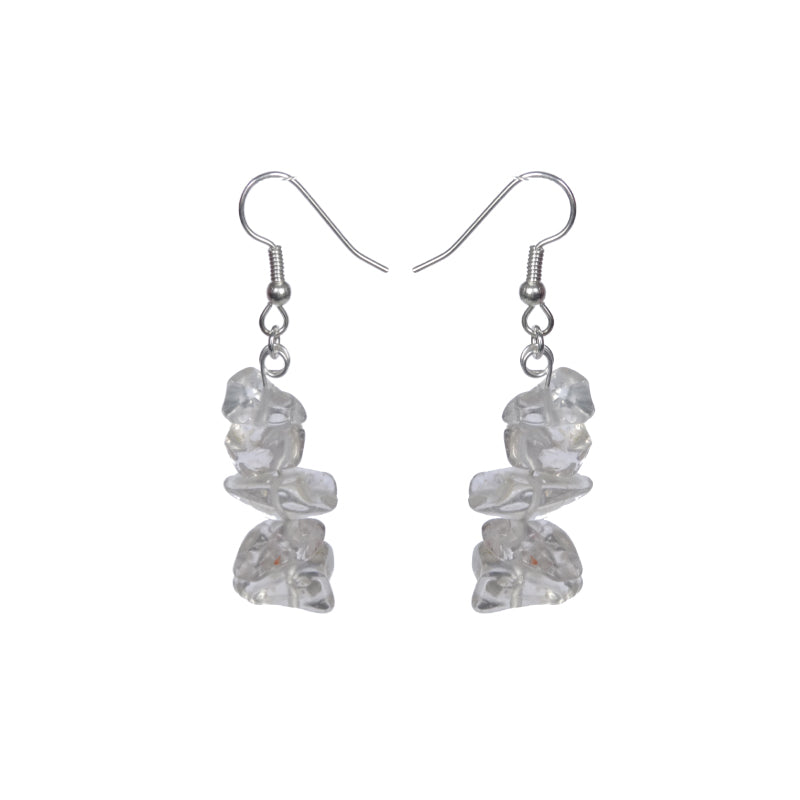Clarity Glass Earrings - Sasha L JEWELS LLC