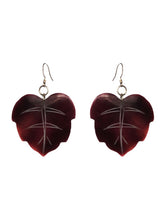 Load image into Gallery viewer, Cocoa Leaf Earrings - Sasha L JEWELS LLC