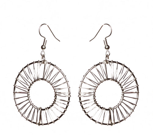 Donut Wire Earrings - Single - Sasha L JEWELS LLC