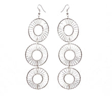 Load image into Gallery viewer, Donut Wire Earrings - Triple - Sasha L JEWELS LLC