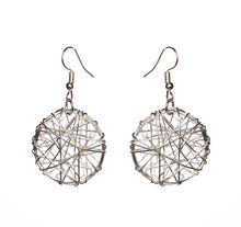Load image into Gallery viewer, SLJ Embellished Wire Design Earrings- Single Handmade Urban Street Unique Fashion Pop Jewelry Travel Urban Retro Chic Collection