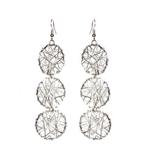 Load image into Gallery viewer, Embellish Wire Earrings - Triple - Sasha L JEWELS LLC