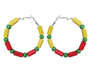 Ethiopia Earring Hoops - Sasha L JEWELS LLC