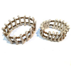 Fossil Web Bangle Cuff - Sasha L JEWELS LLC