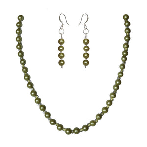 Envy Glass Pearl Set - Sasha L JEWELS LLC