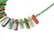 Load image into Gallery viewer, Evergreen Fountain Necklace - Sasha L JEWELS LLC