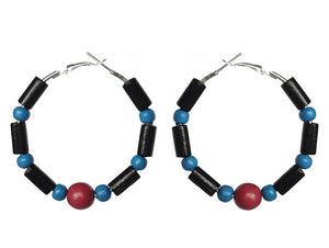 Haiti Earring Hoops - Sasha L JEWELS LLC