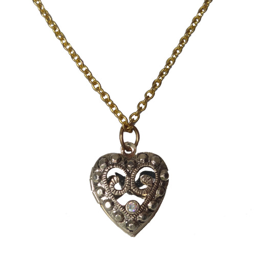 Heart Swarovski Locket
