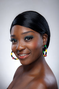 Guyana Earring Hoops - Sasha L JEWELS LLC