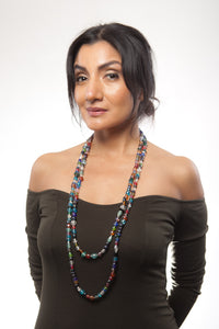 Opera Glass Lariat Necklace - Sasha L JEWELS LLC