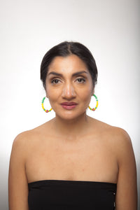 Grenada Earring Hoops - Sasha L JEWELS LLC