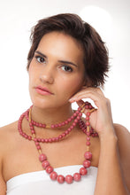 Load image into Gallery viewer, Triple Desert Blush Necklace - Sasha L JEWELS LLC